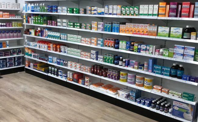 Gap Rd pharmacy inside 3