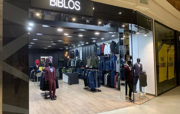 Biblos Menswear Store Fitout